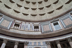 Rome, inside the pantheon Royalty Free Stock Photos