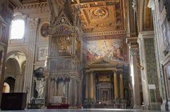 Rome - interior of Lateran basilica Royalty Free Stock Photo