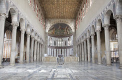 Rome - interior of Santa Sabina Royalty Free Stock Photography
