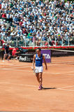 Rome, International Tennis 2014 Royalty Free Stock Images
