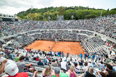 Rome, international tennis 2014 Stock Photography
