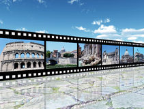 Rome intryck arkivfoton