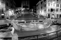 ROME, Italië - 29 Augustus 2015 Spaanse Stappen Stock Afbeeldingen