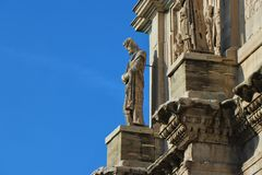 Rome, Italië - Boog van Costantine royalty-vrije stock foto's