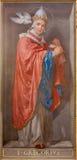 ROME, ITALIË, 2016: De fresko van de Arts van de Kerk St Gregory Groot in Di Santa Maria van kerkchiesa in Aquiro royalty-vrije stock afbeelding