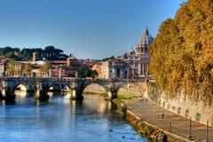 Rome, Italië - koepel St.Peter Royalty-vrije Stock Afbeelding