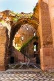 Rome, Italië - 26 Mei 2018: baden van Caracalla Royalty-vrije Stock Foto