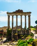 Rome, Italië - 26 Mei 2018: Forum van Cesar Stock Fotografie