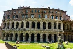 Rome, Italië - 26 Mei 2018: Theater Marcello Royalty-vrije Stock Fotografie