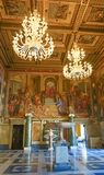 ROME, ITALIË 10 OKTOBER, 2017: De Zaal van Kapiteins in Cons. Royalty-vrije Stock Foto
