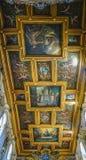 ROME, ITALIË 10 OKTOBER, 2017: Het Binnenlandse Plafond van Basi Royalty-vrije Stock Afbeelding