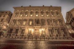 Rome, Italië: Senaat van de Republiek, Palazzo Madama royalty-vrije stock afbeelding