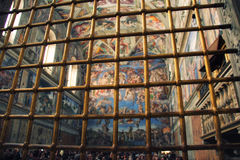 Rome Italië Vaticano Vatikaan Stock Fotografie