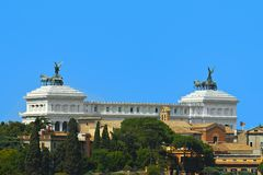 Rome, Italië - Vittoriano Stock Afbeelding