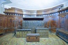 Rome, ITALIE - 1er juin : Intérieur de Castel Santangelo à Rome, Italie le 1er juin 2016 Photos libres de droits
