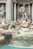 Rome, Italie - fontaine de TREVI image libre de droits