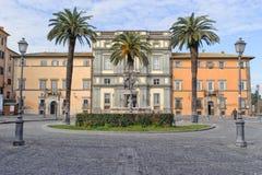 ROME, ITALIE - 20 JANVIER 2010 : Piazza IV Novembre Photos stock