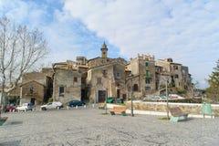 ROME, ITALIE - 20 JANVIER 2010 : Ville de Bracciano en Italie photographie stock libre de droits