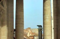 Rome, Italie - loup de Capitoline photographie stock