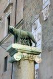 Rome, Italie - loup de Capitoline photos stock