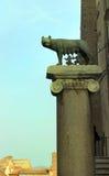 Rome, Italie - loup de Capitoline photo libre de droits
