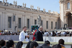 Pape Francis Inauguration Mass images stock