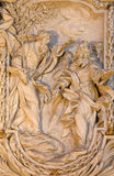 ROME, ITALIE - 10 MARS 2016 : Le soulagement de l'apôtre St James le grand dans l'église Basilica di San Marco par Carlo Monaldi Images libres de droits