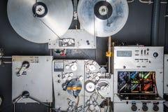 Rome Italien - April 22 2015 , Industriell bio 35m för sällsynt tappning Arkivbild