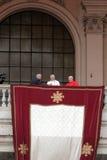 Pope Francis I under bosättningen St John Lateran, Rome Royaltyfri Foto