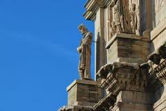 Rome Italien - båge av Costantine royaltyfria foton