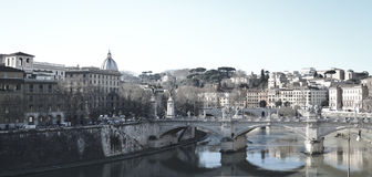 Rome Italien, cityscape royaltyfri bild