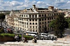 Rome Italien horisont Royaltyfri Fotografi