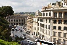 Rome Italien horisont Royaltyfria Foton