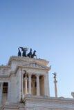ROME ITALIEN - JANUARI 27, 2010: Altare della Patria Royaltyfri Fotografi