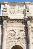 ROME ITALIEN - JANUARI 21, 2010: Båge av Constantine Royaltyfria Bilder