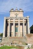 ROME ITALIEN - JANUARI 21, 2010: Basilika Amelia Royaltyfria Foton