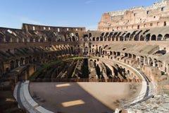 ROME ITALIEN - JANUARI 21, 2010: Colosseum Arkivbild