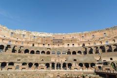 ROME ITALIEN - JANUARI 21, 2010: Colosseum Arkivfoto