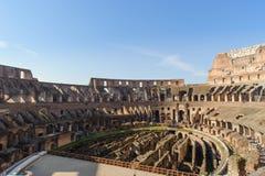 ROME ITALIEN - JANUARI 21, 2010: Colosseum Fotografering för Bildbyråer