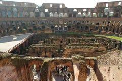 ROME ITALIEN - JANUARI 21, 2010: Colosseum Royaltyfria Bilder