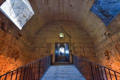 Rome ITALIEN - JUNI 01: Castel Santangelo i Rome, Italien på Juni 01, 2016 Arkivbild
