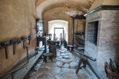 Rome ITALIEN - JUNI 01: Castel Santangelo i Rome, Italien på Juni 01, 2016 Arkivbilder