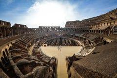 Rome ITALIEN - JUNI 01: Colosseum i Rome, Italien på Juni 01, 2016 Fotografering för Bildbyråer