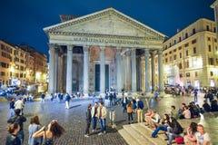 Rome ITALIEN - JUNI 01, 2016: Panteon i Rome, Italien Arkivbild