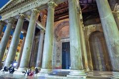 Rome ITALIEN - JUNI 01, 2016: Panteon i Rome, Italien Royaltyfria Foton