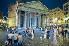 Rome ITALIEN - JUNI 01, 2016: Panteon i Rome, Italien Arkivfoton