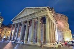 Rome ITALIEN - JUNI 01, 2016: Panteon i Rome, Italien Fotografering för Bildbyråer