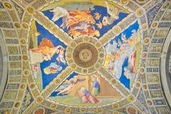 Rome ITALIEN - JUNI 01: Vatikanstaten museum i Rome, Italien på Juni 01, 2016 Royaltyfri Foto