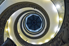 Rome ITALIEN - JUNI 01: Vatikanstaten museum i Rome, Italien på Juni 01, 2016 Arkivbilder