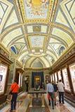 Rome ITALIEN - JUNI 01: Vatikanstaten museum i Rome, Italien på Juni 01, 2016 Royaltyfria Foton